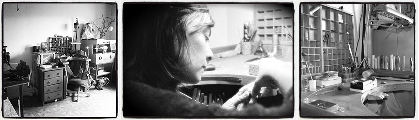 presentation atelier julie vallet reparation fabrication bijou poitiers