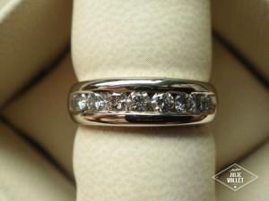 Alliance-Or-Gris-Diamants par Atelier Julie Vallet Poitiers