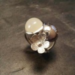 Bague 3 collection bulle atelier Julie Vallet Poitiers
