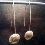 Boucles d'Oreilles collection bulle atelier Julie Vallet Poitiers