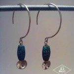 Boucles d'oreilles collection ito atelier Julie Vallet Poitiers