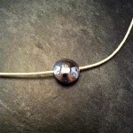 Collier collection bulle atelier Julie Vallet Poitiers